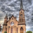 Church, HDR — Stock Photo