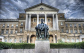 Abe Lincoln stature, HDR — Stock Photo