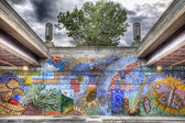 Chicago Street Art, HDR — Stock Photo