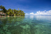 Tropical Beach, Fiji — Stock Photo