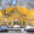 Stock Photo: Pagoda in winter, HDR