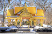 Pagoda in winter, HDR — Stock Photo