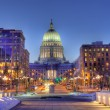 Madison, Wisconsin Skyline, HDR — Stock Photo #2471082