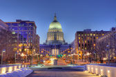 Madison, Wisconsin Skyline, HDR — Stock Photo