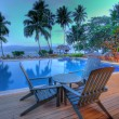 Pool at tropical resort, HDR — Stock Photo #2495320