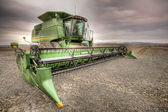 Combine Harvester, HDR — Stock Photo