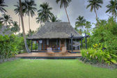 Tropical hut, Fiji, HDR — Stockfoto
