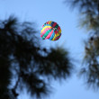 Stock Photo: Parasailing