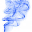 Blue smoke from cigarettes — Stock Photo