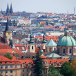 Tiled roofs of Prague — Stock Photo