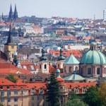 pokrycia dachów Pragi — Zdjęcie stockowe