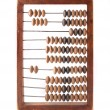 Royalty-Free Stock Photo: Old wooden abacus isolated