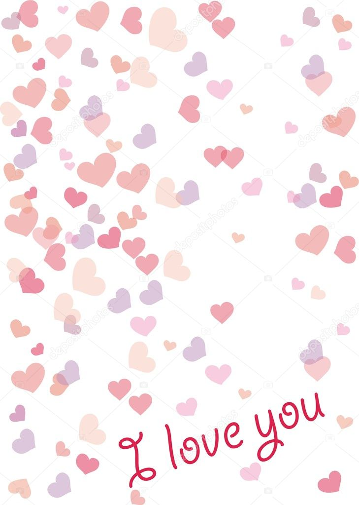 Valentine vector isolated on a white background — Stock Vector #2053144