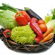 Vegetables in the basket — Stock Photo #1647371