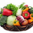 Vegetables in the basket — Stock Photo #1647620