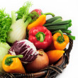 Vegetables in the basket — Stock Photo #1647630