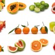 Royalty-Free Stock Photo: Fruits collection