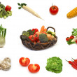 Vegetables collection — Stock Photo #1647927