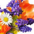 Stock Photo: Spring flowers bouquet