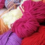 Colorful yarn — Stock Photo