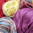 Stock Photo: Colorful yarn
