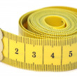 Stock Photo: Measuring tape