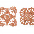 Crocheted lace — Stock Photo