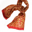 Stock Photo: Silk scarf