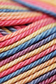 Close-up of colorfull yarn — Stock Photo