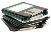 3.5 inches floppy discs — Stock Photo
