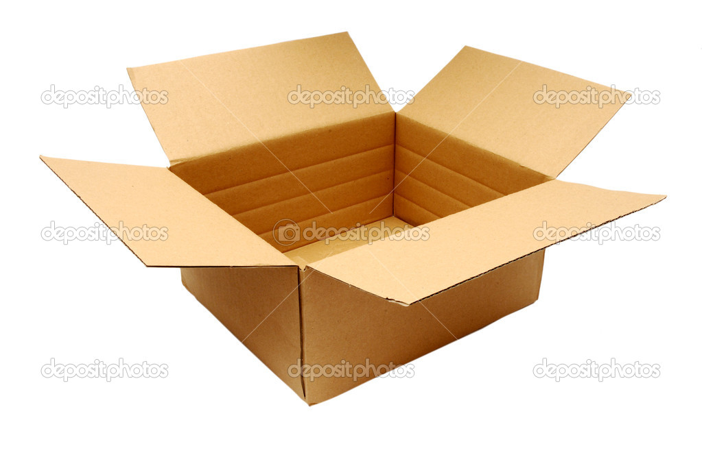 Carton box — Stock Photo #1665248