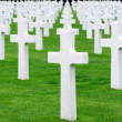 American cemetery. Normandy, France — Stock Photo