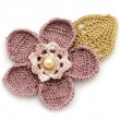 Crocheted flower — Stock Photo #2618381