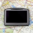 GPS on map — Stockfoto #1691576