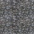 Seamless background: stone wall - Stock Photo