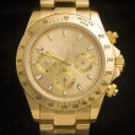 luksusowy Złoty zegarek — Zdjęcie stockowe