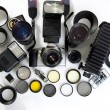 Photographic equipment — Stock Photo