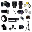 Royalty-Free Stock Photo: XXL. Photographic equipment set.