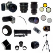 XXL. Photographic equipment set. — Stock Photo