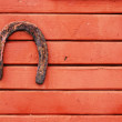 Old lucky horseshoe — Stock Photo