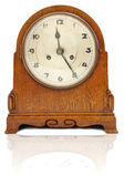 Old retro clock — Stock Photo