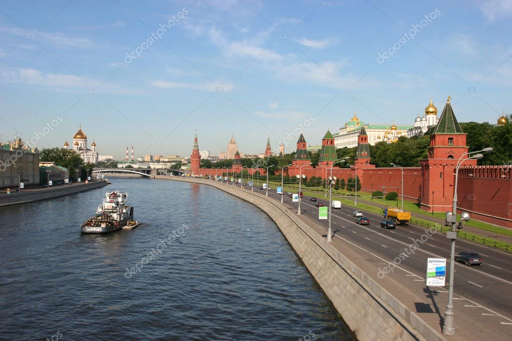 Panorama of Moscow Kremlin — Stock Photo #1726841