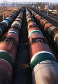 Tanks with oil — Stock Photo
