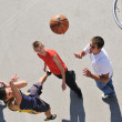 Royalty-Free Stock Photo: Street basketball