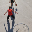 street basketball — Stock Photo