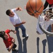 Street basketball - Stock Photo