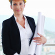 Royalty-Free Stock Photo: Architect woman