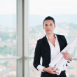 Architect woman — Stock Photo #1673913