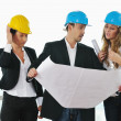 Young architect team — Stock Photo #1674080