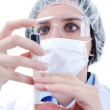 Royalty-Free Stock Photo: Injection nurse